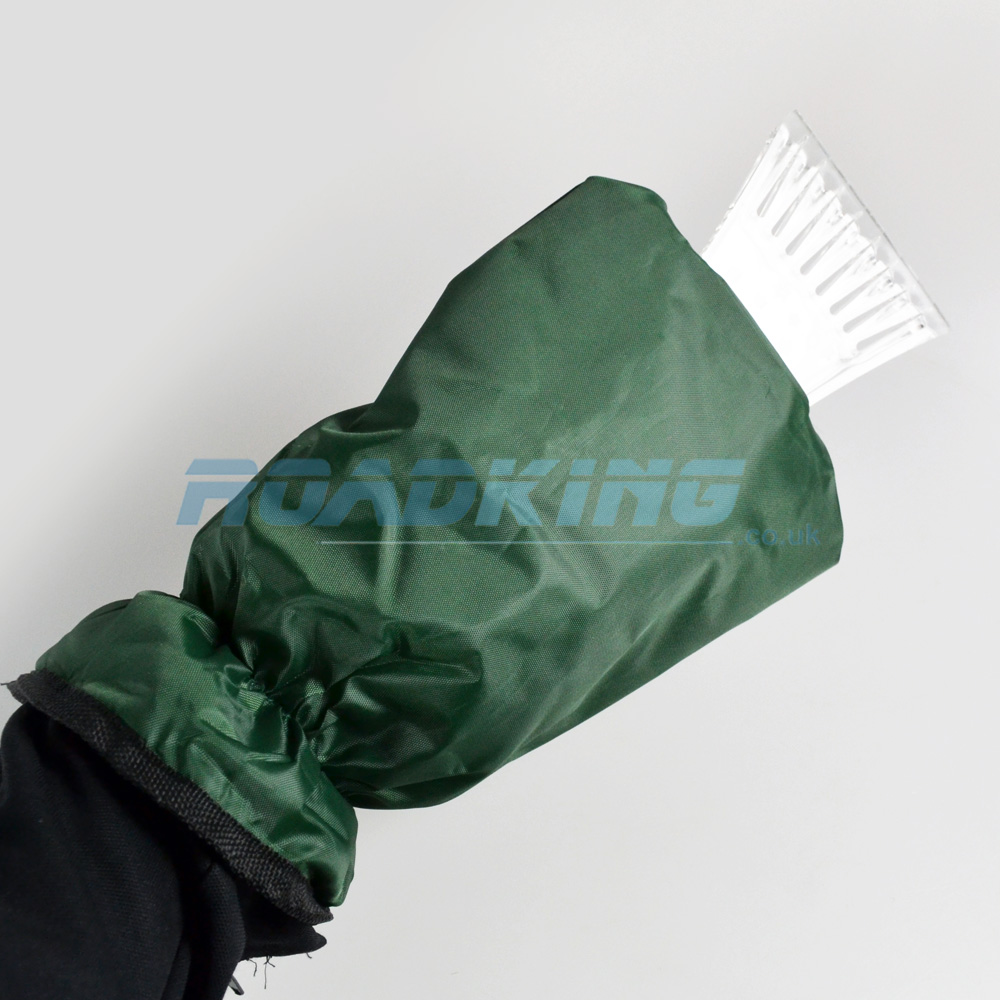 Ice Scrapper Mitt | Insulated Fleece Lined