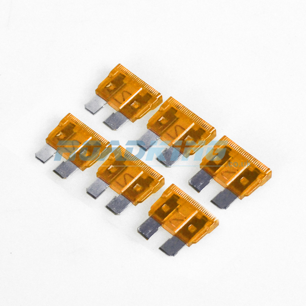 5a Blade Fuse | 6x Pack | 5 Amp Orange