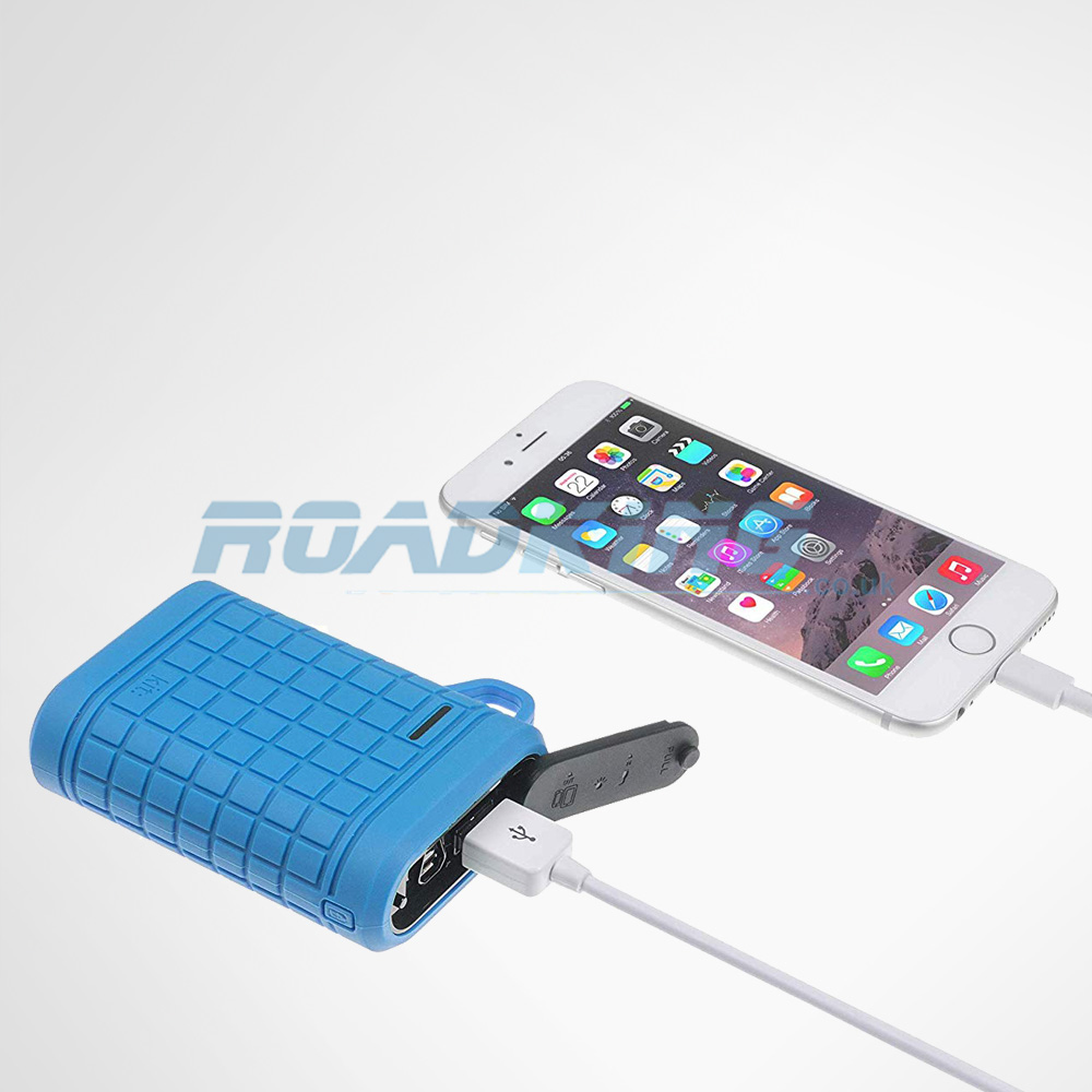 Kit Universal Portable Power Bank Emergency Battery Charger for phone | 9000mAh Blue