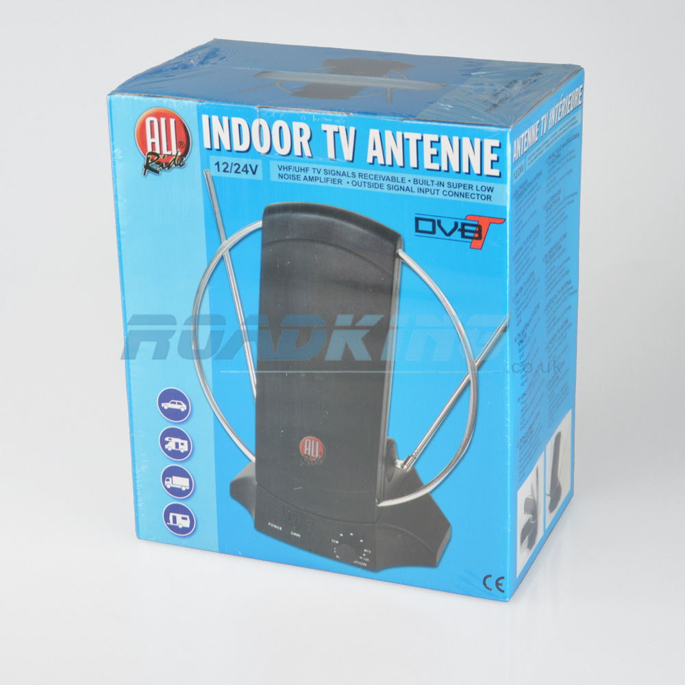 DVB-T Indoor TV Antenna 12v / 24v