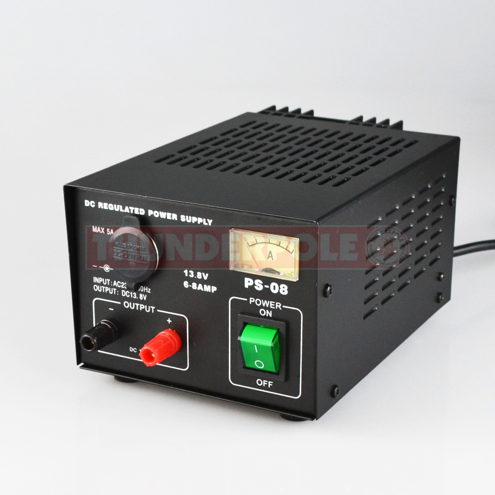 6-8 Amp Power Supply | PS-08