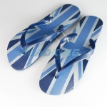 Mens Flip Flops Pack  | Union Jack Print | 12 Pcs