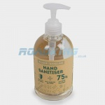 Hand Sanitiser with Pump | Hand Gel 75% Alcohol | 500ml