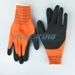 Hantex Alpine Dual Latex Thermal Gloves | Orange | Size 10