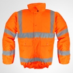 Hi-Viz Bomber Jacket - Orange