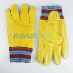 Leather Driving Gloves | Knitted Wrist