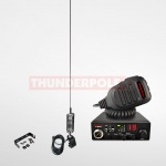 Thunderpole 12 Volt CB Radio Starter Pack - Gutter Mount - Long Orbitor