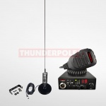 Thunderpole 12 Volt CB Radio Starter Pack - Mag Mount - Long Orbitor