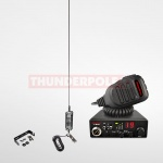 Thunderpole 12 Volt CB Radio Starter Pack - Mirror Mount - Long Orbitor