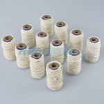 12 Rolls of Natural White String | 12m