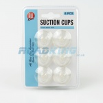 Small Suction Cups with Hooks - 6pcs | 35mm