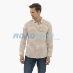 7 Mens Red/Brown Tattersall Shirt  | Assorted Sizes