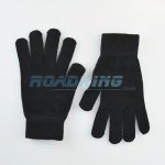 Adult Thermal Acrylic / Spandex Gloves | Black