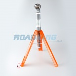 Flashing Emergency Tripod with Torch